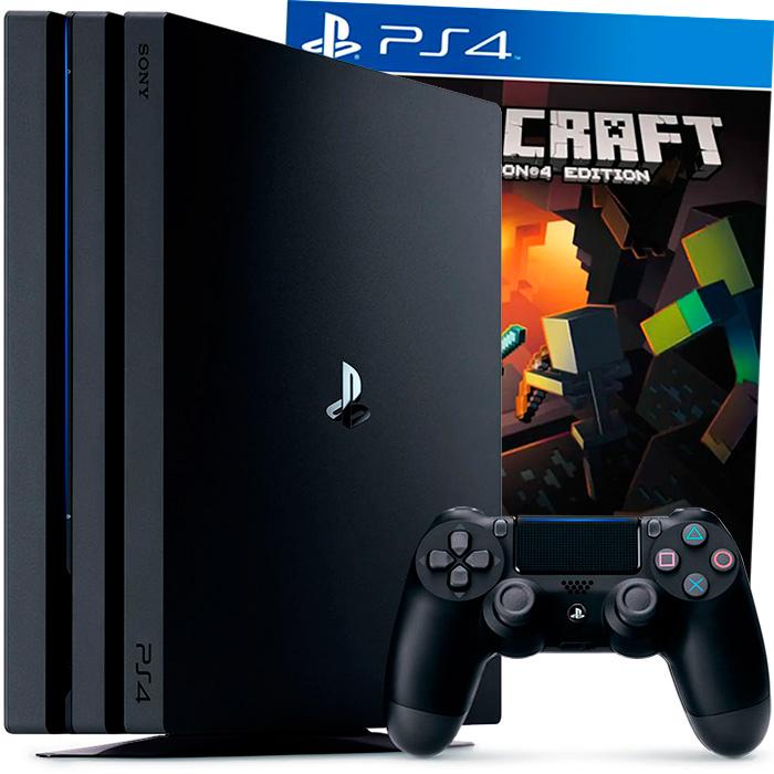 PS4 Pro и Minecraft