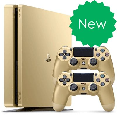 PlayStation 4 Slim 500Gb Золотая