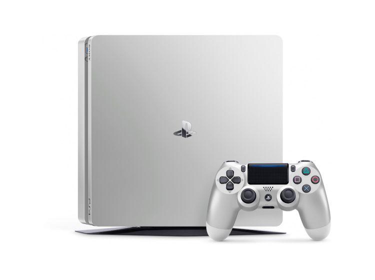 PS4 Slim 500Gb Серебряная изображение 0