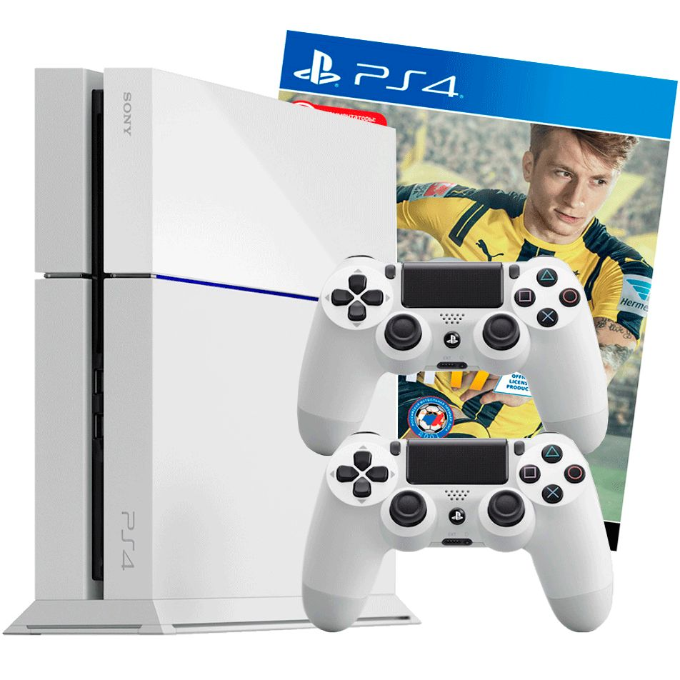 PlayStation 4 500Gb FIFA 17 2 джойстика