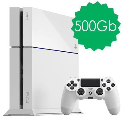 PlayStation 4 500Gb белая