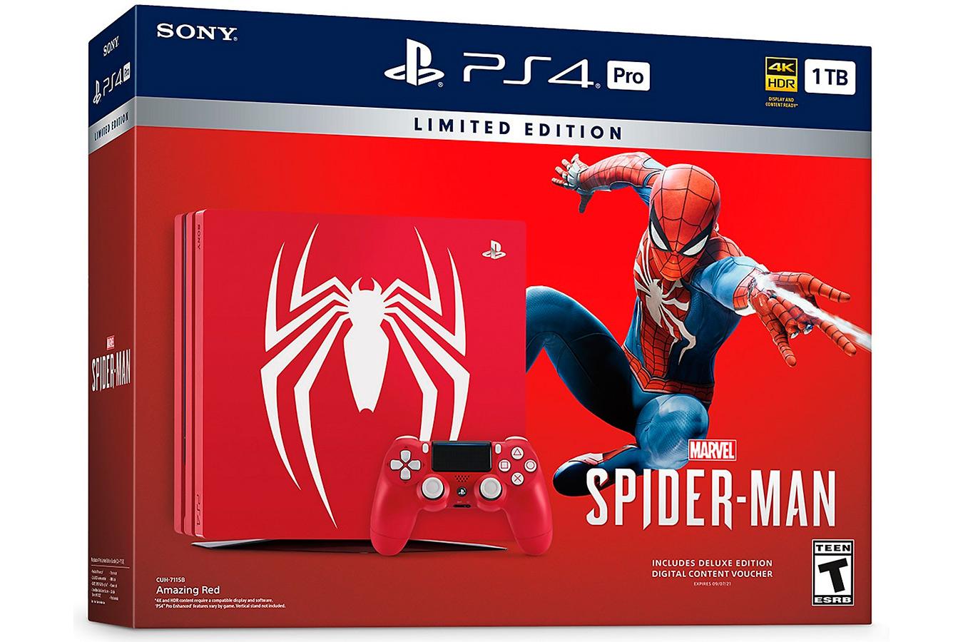 PS4 Pro Spiderman изображение 0