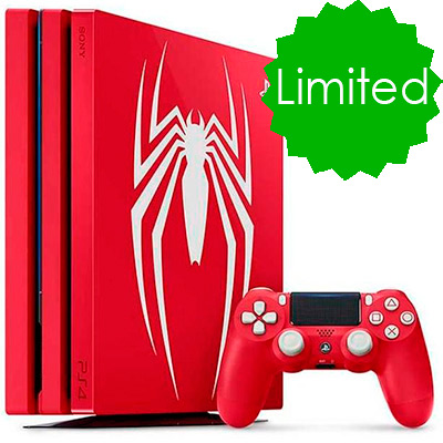 PS4 Pro Spiderman