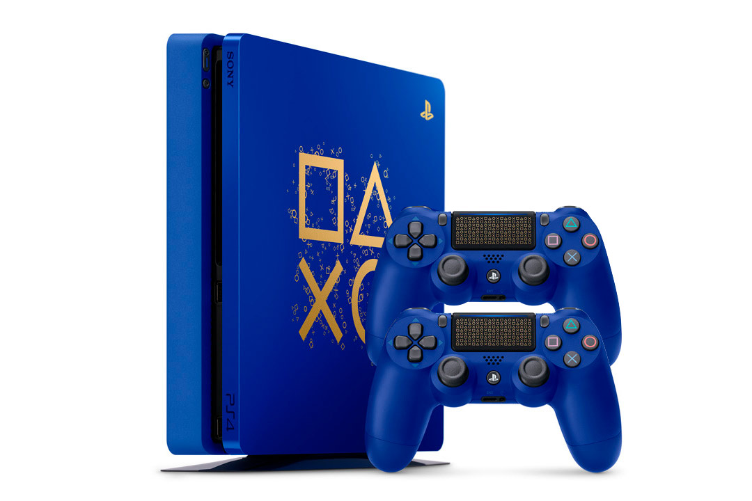 PlayStation 4 Slim 500Gb Время играть, ограниченная серия [PS4S5VI]