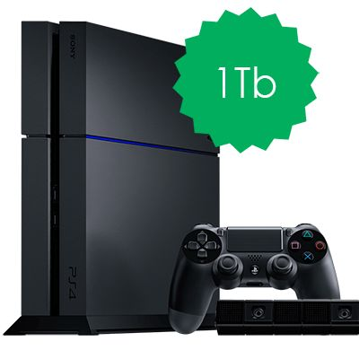 PlayStation 4 1Tb с камерой