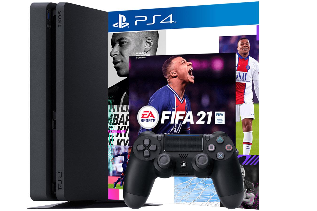 PlayStation 4 1Tb игровая приставка с игрой FIFA 21 [PS4S1F21]