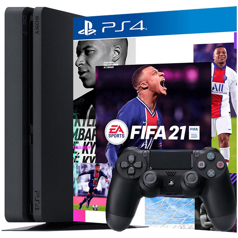 PS4 500Gb и FIFA 21