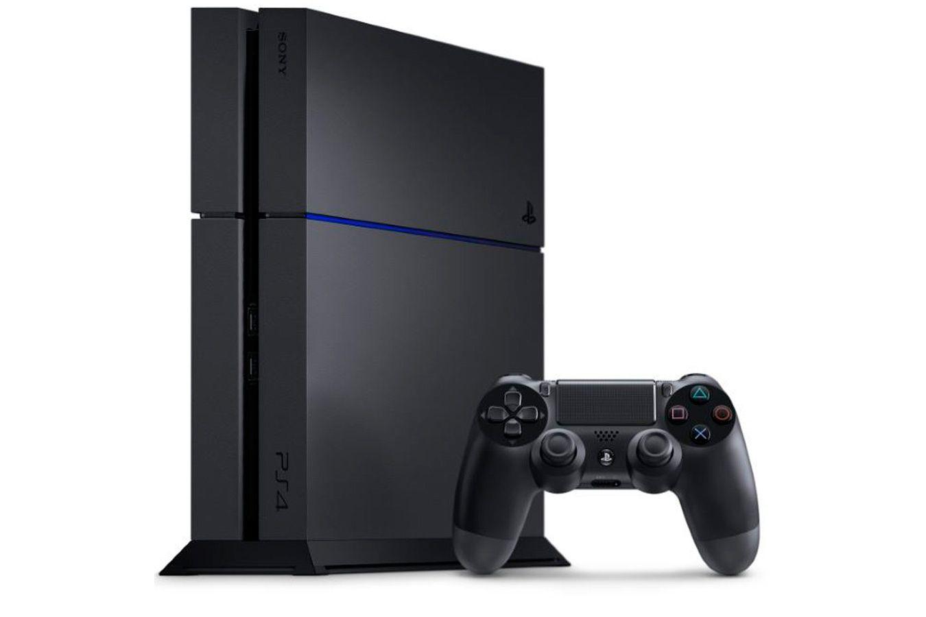 PlayStation 4 500Gb черная игровая приставка [PSF45]