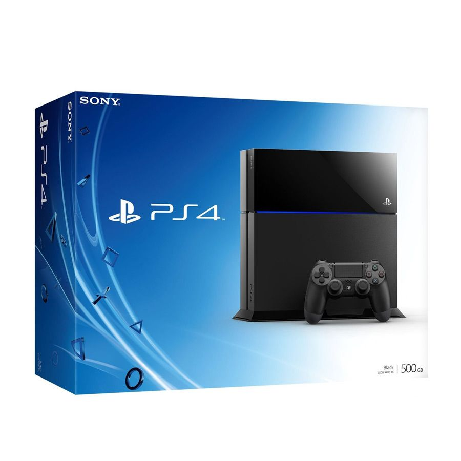 PlayStation 4 500Gb черная изображение 0