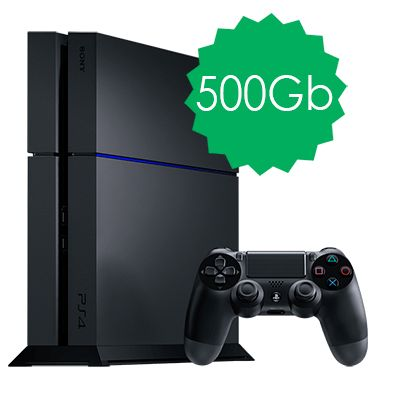 PlayStation 4 500Gb черная