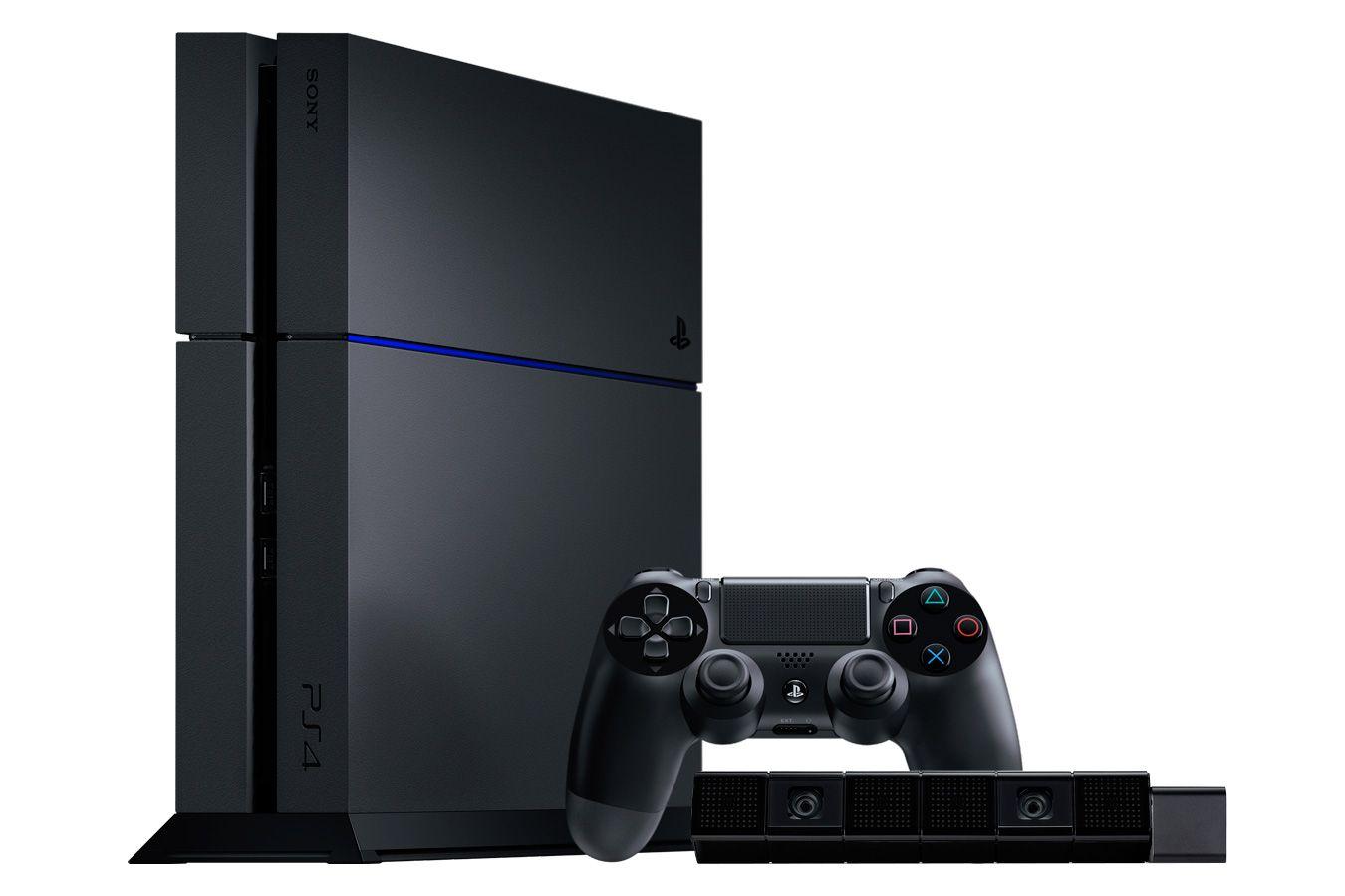 PlayStation 4 500Gb игровая приставка с камерой [PSF45C]