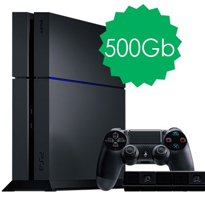 PlayStation 4 500Gb с камерой