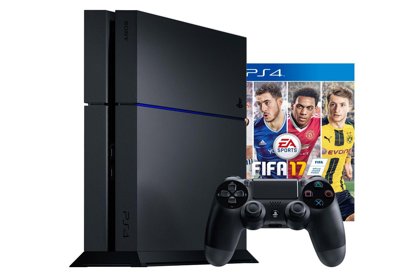 PlayStation 4 500Gb игровая приставка с игрой FIFA 17 [PSF45F17]