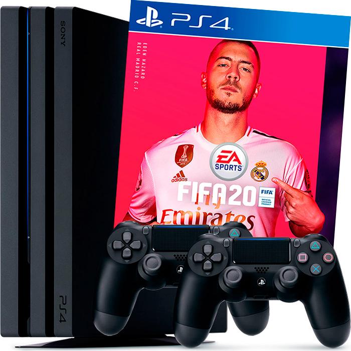 PS4 Pro 2 джойстика FIFA 20