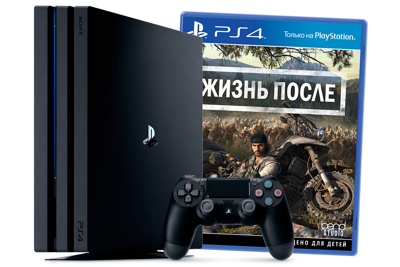 PlayStation 4 Pro приставка с игрой Жизнь После [PS4P1DGO]