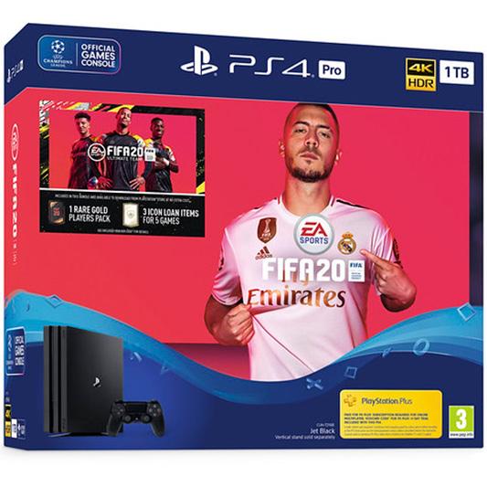 PS4 Pro и FIFA 20