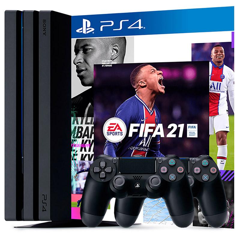 PS4 Pro 2 джойстика FIFA 21