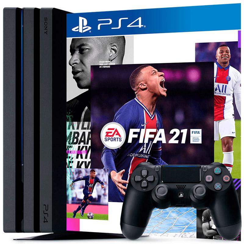 PS4 Pro и FIFA 21