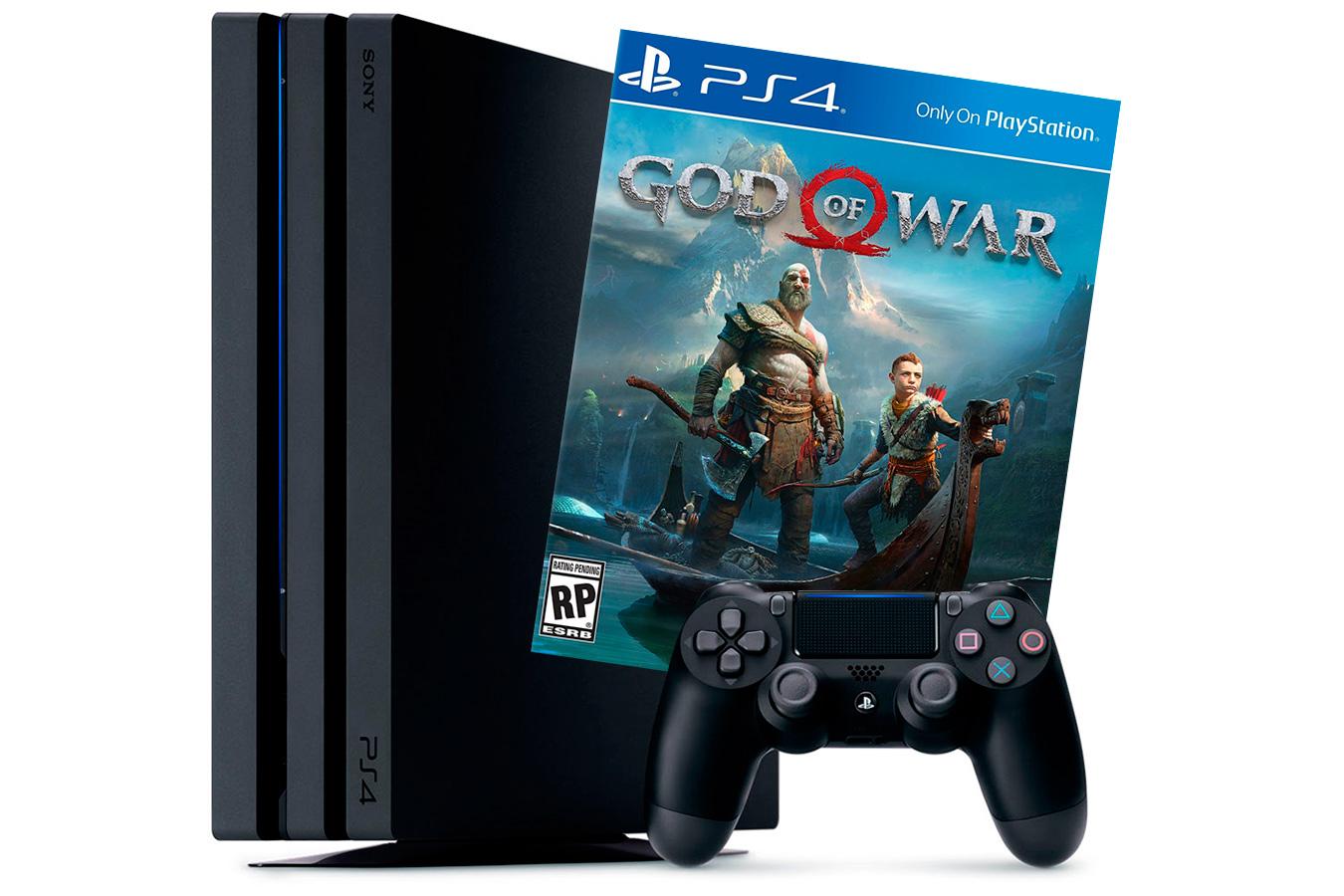 PlayStation 4 Pro игровая приставка с игрой God of War 2018 [PS4P1GW18]