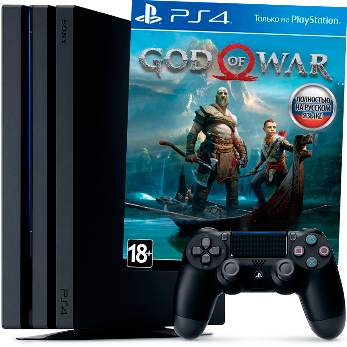 PS4 Pro и God of War 2018