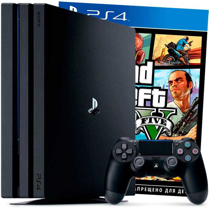 PS4 Pro и GTA 5