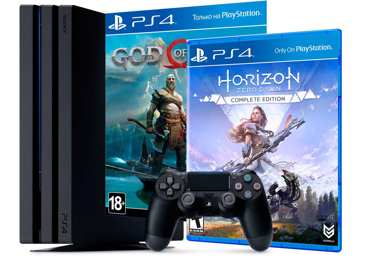 PlayStation 4 Pro Horizon Zero Dawn и God of War 2018 [PS4P1GWHO]
