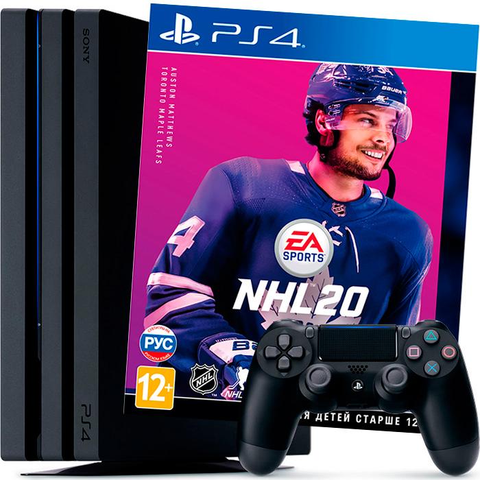 PS4 Pro и NHL 20