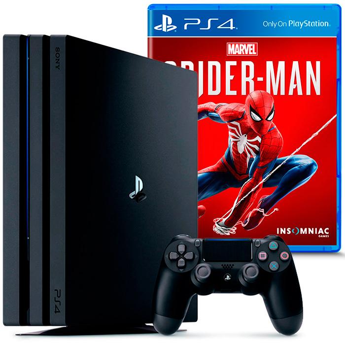 PS4 Pro и Spider Man
