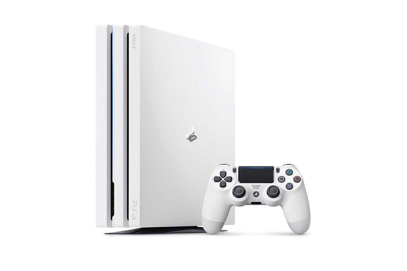 PlayStation 4 Pro белая игровая приставка [PS4P1WZ]