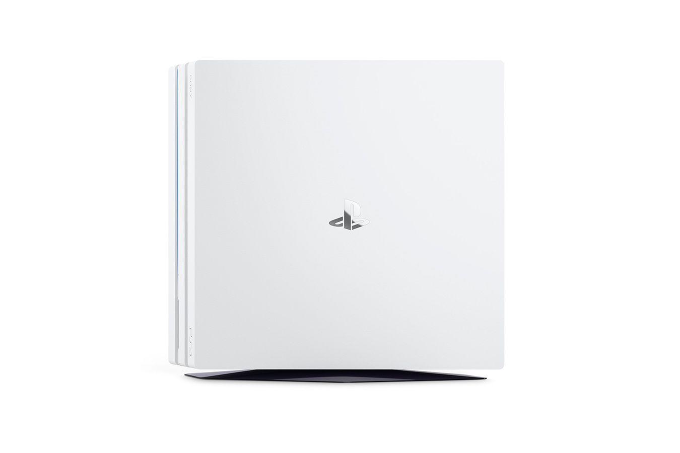 Белая PlayStation 4 Pro изображение 3