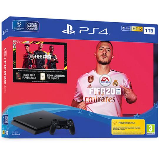 PS4 Slim 1Tb и FIFA 20