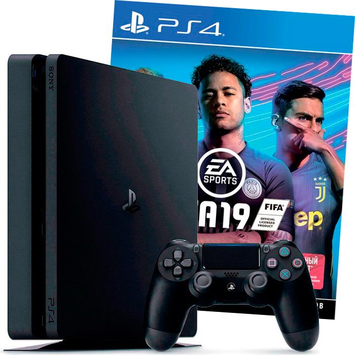 PS4 Slim 1Tb FIFA 19