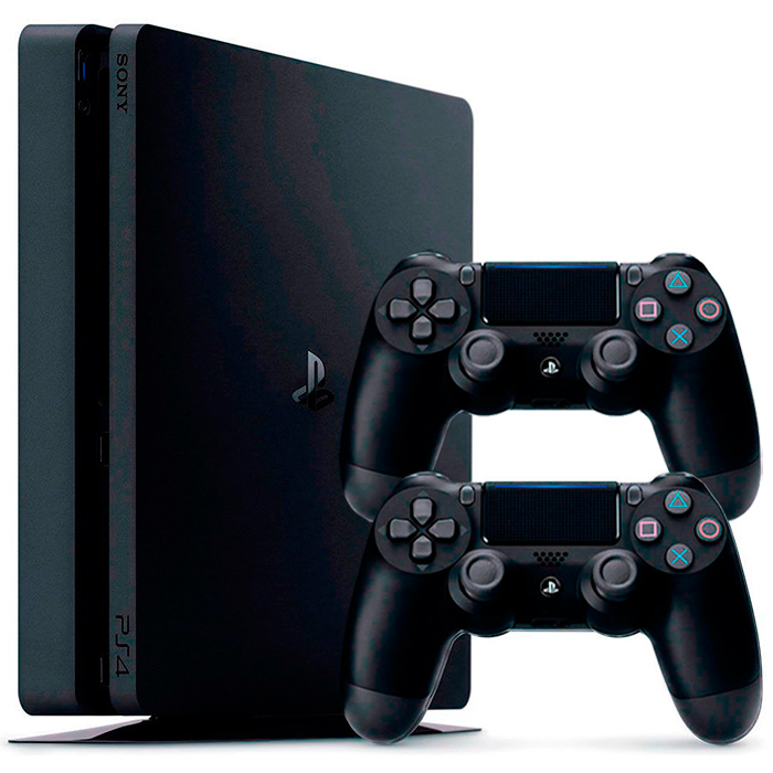 PS4 Slim 500Gb 2 джойстика