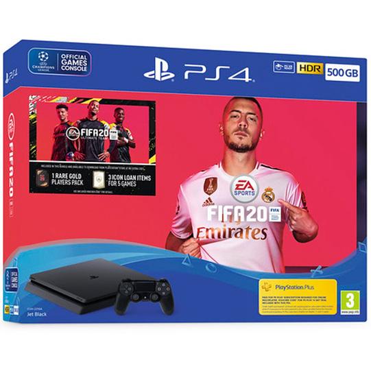 PlayStation 4 500Gb с игрой FIFA 20 [PS4S5F20]