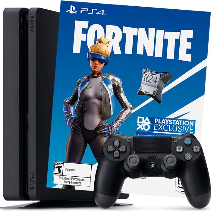PS4 500Gb и Fortnite
