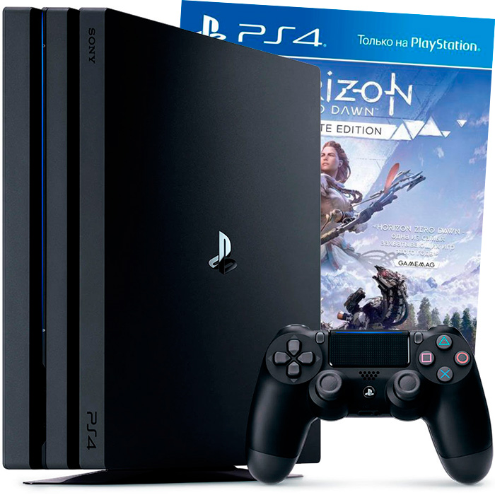 PS4 Pro Horizon Zero Dawn