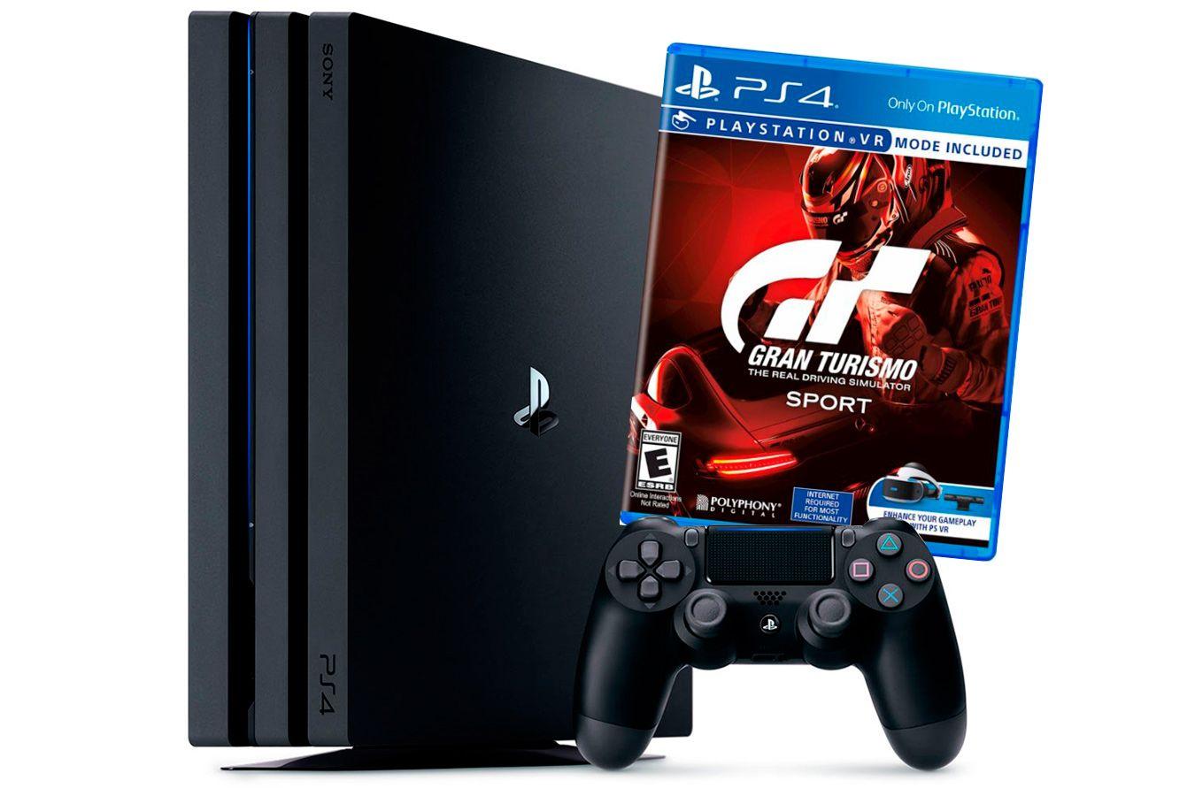 PlayStation 4 Pro Bundle с игрой Gran Turismo Sport [PS4P1GTS]