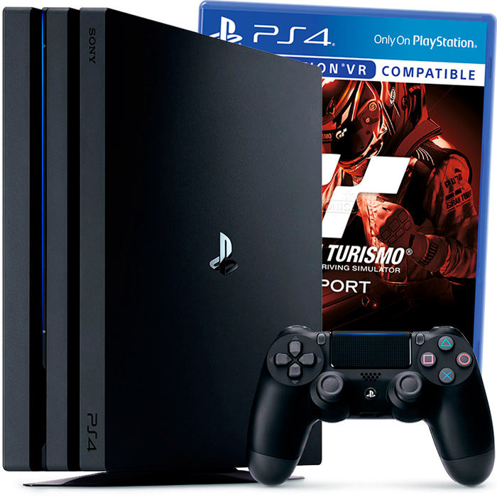 PlayStation 4 Pro и Gran Turismo Sport