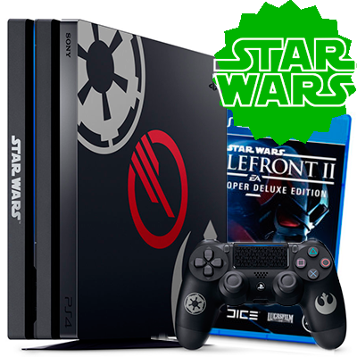 PS4 Pro Limited Edition STAR WARS