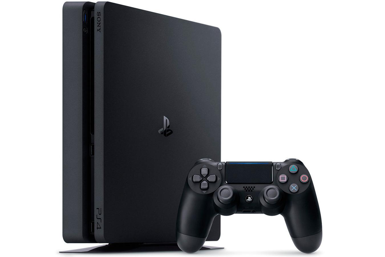 PlayStation 4 Slim 1Tb игровая приставка [PS4S1]