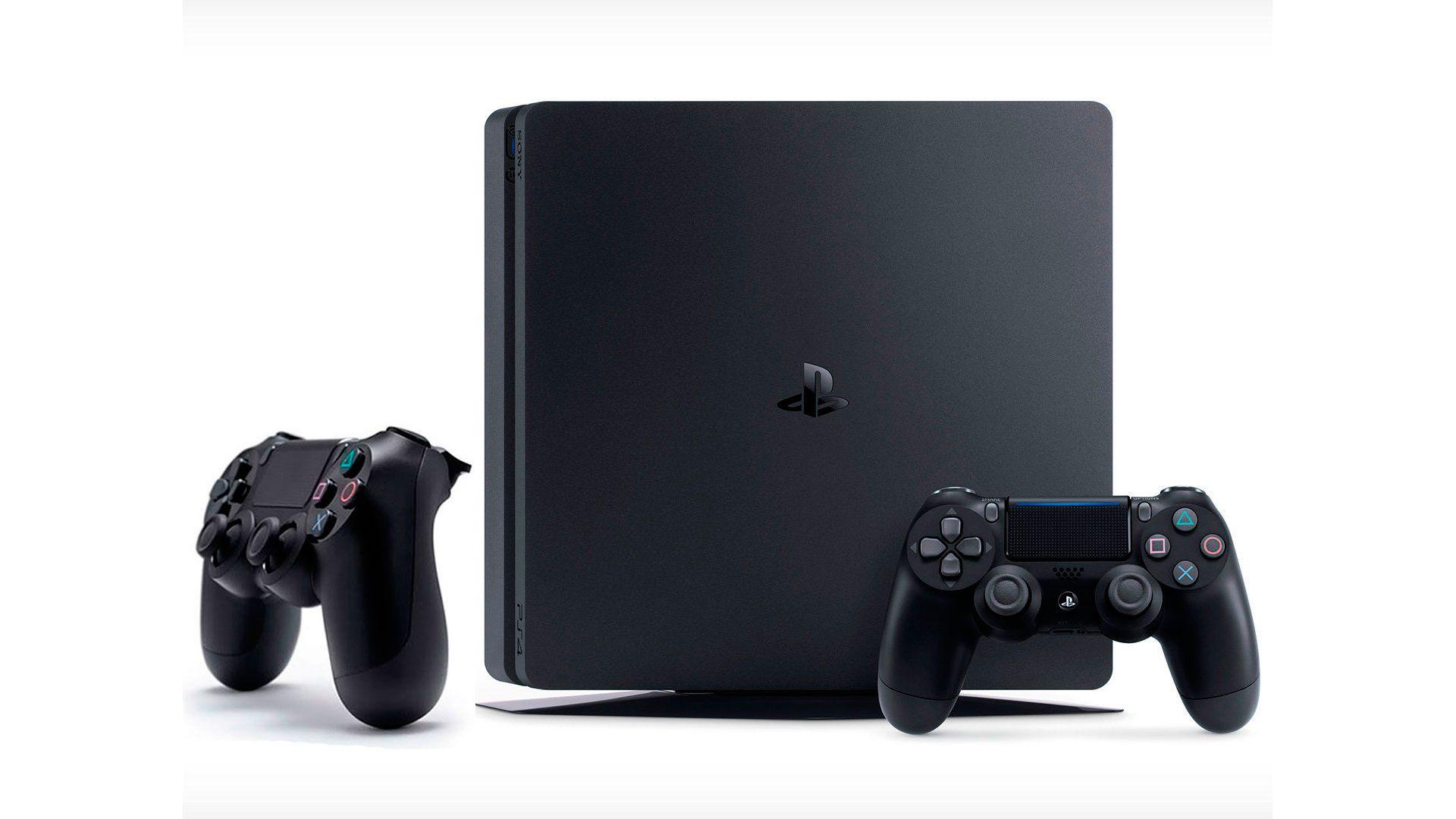PlayStation 4 Slim 1Tb 2 джойстика изображение 0
