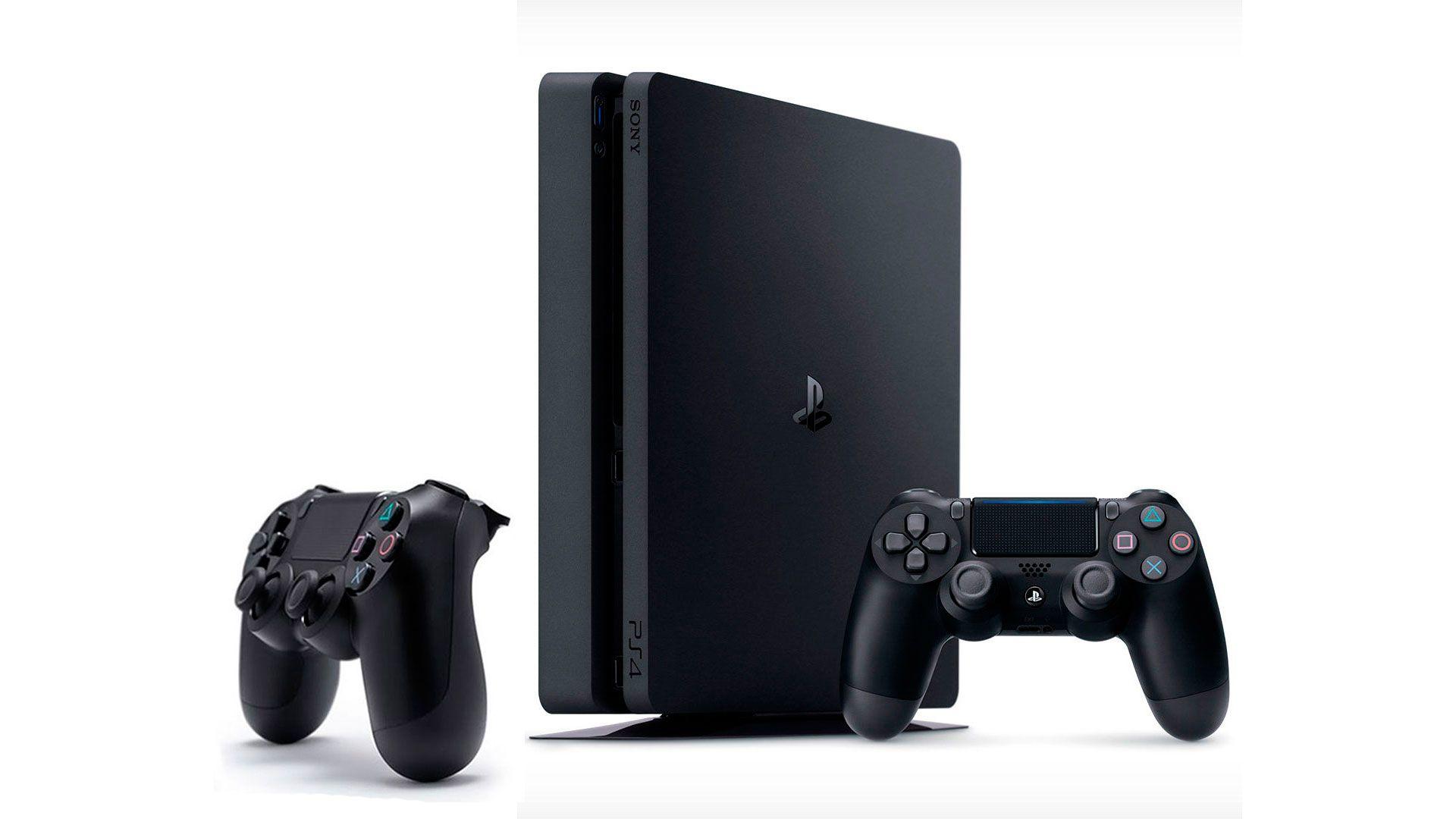 PlayStation 4 Slim 500Gb FIFA 17 и 2 джойстика изображение 0