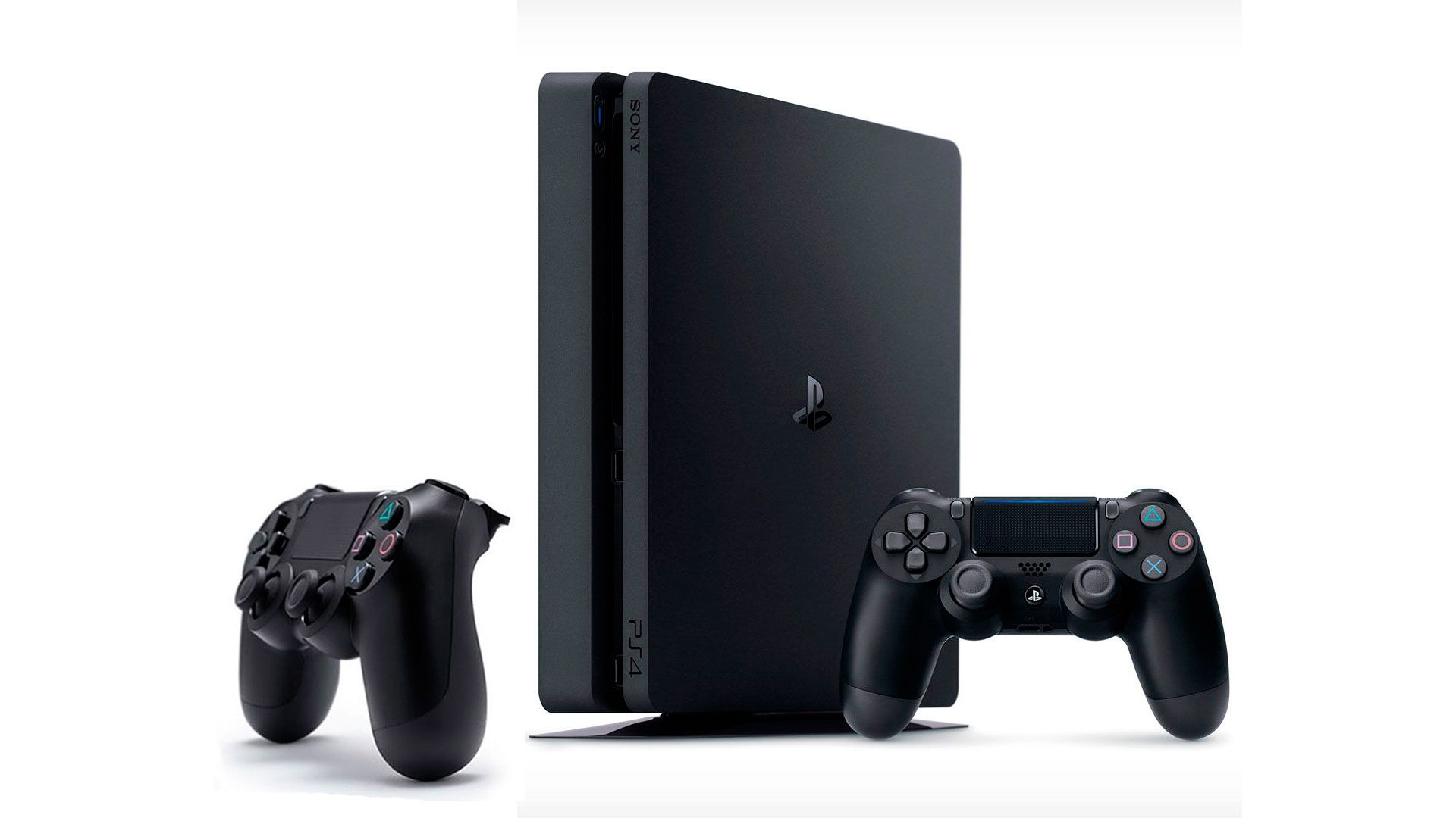 PlayStation 4 Slim 1Tb FIFA 17 и 2 джойстика изображение 0