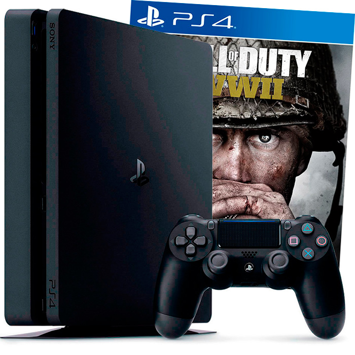 PS4 Slim 1Tb и Call of Duty