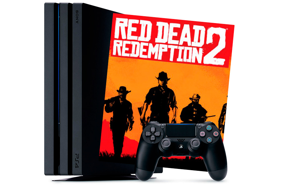 PlayStation 4 Pro и игра Red Dead Redemption 2 [PS4P1RDR2]