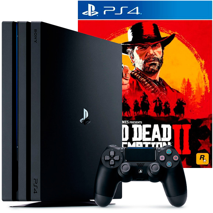 PS4 Pro и Red Dead Redemption 2
