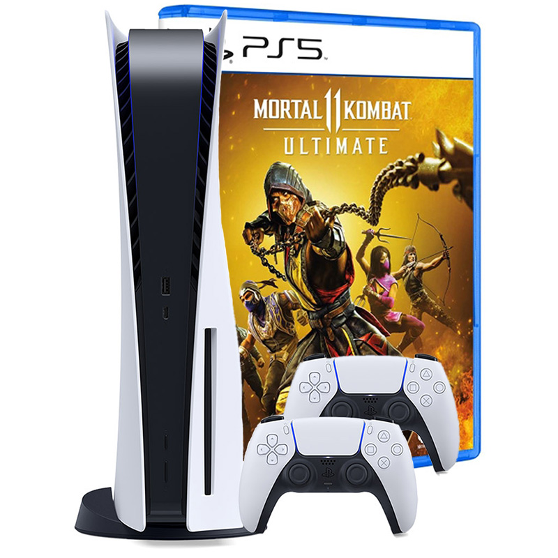 PlayStation 5 игра Mortal Kombat 11 и 2 джойстика [PS5B2MK11]