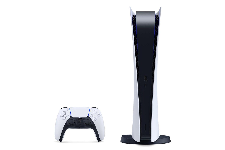 PlayStation 5 Digital Edition белая игровая приставка [PS5P1DZ]