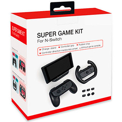 набор super game kit для nintendo switch dobe tns-876