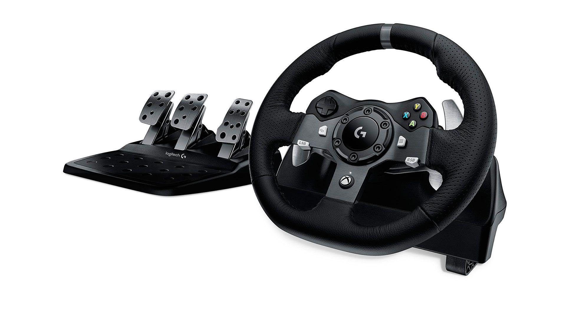 Logitech G920 Driving Force игровой руль для Xbox One